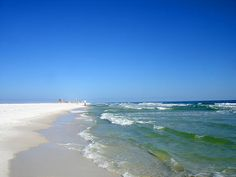 Travel & Leisure's 10 best shelling beaches: Gulf Islands National Seashore in Pensacola, FL Vero Beach Florida, Pensacola Beach, Florida Vacation, Cool Places To Visit, Places To Travel, Travel Stuff, Travel Destinations, Florida Images, East Coast Road Trip