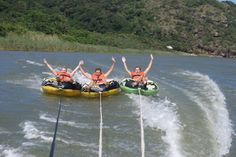 Boat Trips and Jet Skiing with Wild Coast Water World near the Wild Coast Sun, Port Edward - South Africa Ocean Sounds, Secluded Beach, Kwazulu Natal, Jet Ski, Wakeboarding, East London, Horseback Riding, South Africa, Skiing