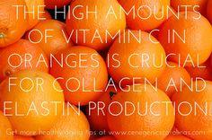 vitamin c, collagen, elastin, wrinkles, skincare