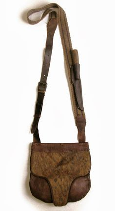 Contemporary Makers: Hunting Pouch by Jim Hayes