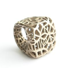 3D printed ring,   odyssee ring by Monomer