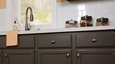 Don't install new cabinet pulls or handles until you've watched our tips for prepping cabinetry.