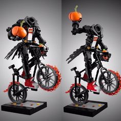 Happy Halloween : @dviddy. Follow @brickinspired for more #LEGO inspiration! #brickinspired Amazing Lego Creations, Lego Brick, Legos, Happy Halloween, Photo And Video, Stars, Pumpkins, Inspiration, Inspired