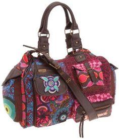 Desigual Bols London Martina Large Shoulder Bag 26X5150, Multicolor - it's my bag!