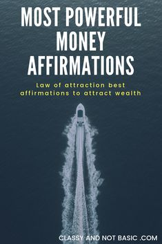 Attract money using law of attraction affirmations. This law of attraction technique is beginner friendly. Discover the different methods on exactly how the laq of tourist attraction will alter your life Manifestation Law Of Attraction, Law Of Attraction Affirmations, Secret Law Of Attraction, Law Of Attraction Quotes, Law Of Attraction Planner, Wealth Affirmations, Positive Affirmations, Morning Affirmations, Attract Money