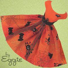 A Little Batty! - Vintage Barbie Doll Dress Reproduction Barbie Clothes Fashions