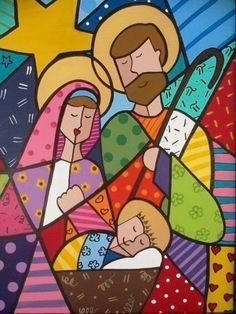 Resultado de imagem para arvores de natal de romero de brito para colorir e imprimir Christmas Nativity, Christmas Art, Arte Elemental, Pop Art, Graffiti Painting, Graffiti Art, Arte Country, Poster S, Arte Pop