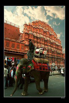 Hawa-Mahal (Wind Palace), Jaipur