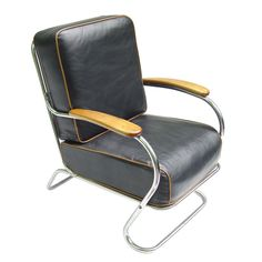 50's chair with chrome----garage
