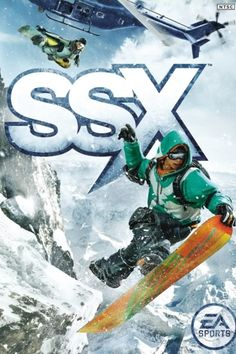SSX: Snowboarding Supercross --- This game is a never-ending source of entertainment!