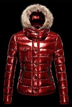 Hot Sell Moncler Armoise Down Jackets For Women Red Shop Online Store 49e0f2aa541