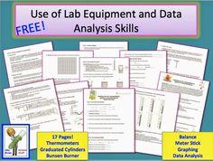 Classroom Freebies: Lab: Use of Lab Equipment and Data Analysis Skills