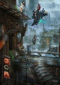 Concept Art | Sci-Fi Art - Part 65