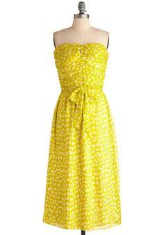 Life Gives You Lemongrass Dress