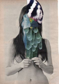 """Saatchi Online Artist: Charles Wilkin; Paper, 2013, Assemblage / Collage """"Who Said They Have"""""""