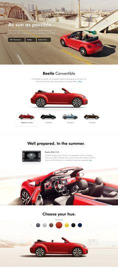 VW Redesign - Product detail sneak peak #redesign