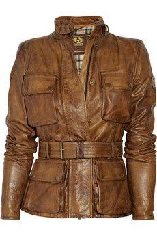 belstaff jacket - Love the leather
