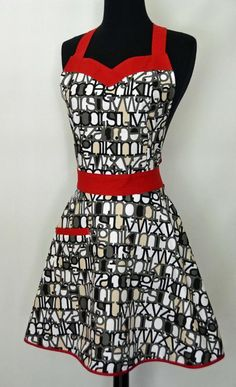 Next dinner party, I'm ditching the old apron for one like this!