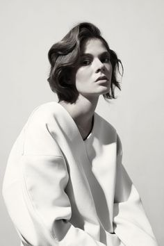 Anna Pichler for Philosophy magazine #2 f/W 2013, Photographed by Balint Barna.
