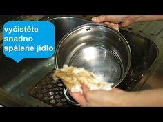 Jak snadno vyčistit nerezové nádobí - čišticí triků!| Perfektní - YouTube Dog Bowls, Cleaning Hacks, Maine, The Cure, Make It Yourself, Youtube, Garden, Kitchen, House