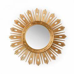 Chelsea House Wasden Round Mirror Gold