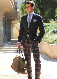 Glen Plaid -- Damn those plaid pants and how they make everything ...