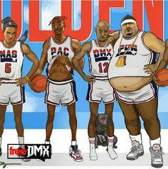 Nas, Tupac, DMX, and Big Pun