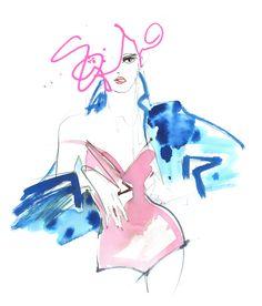 Illustrator Lovisa Burfitt. www.auraphotoagency.com