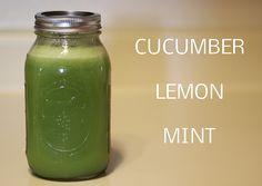 Cucumber Lemon Mint Juice recipe