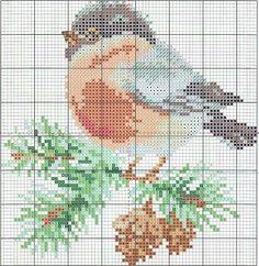 Птицы и птички - 14 схем для вышивки крестом. Обсуждение на LiveInternet - Российский Сервис Онлайн-Дневников