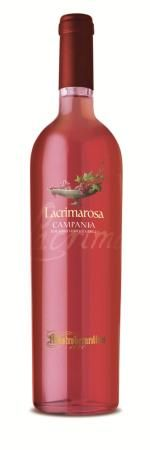 Mastroberardino Lacrimarosa Campania IGT 2012. A fruity yet delicate bouquet of white peaches, honey, strawberries, raspberries, peonies, and currants.  This is a complex wine that matches wonderfully with antipasti, risotto, pasta dishes with grilled vegetables, and white meats.