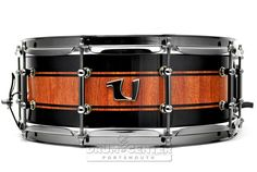 Unix Drums Bubinga Stave Snare Drum 14x5.5