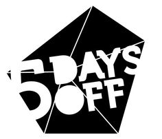 5 Days Off. Amsterdam based electronic music festival | Music driven, Party minded | 6 - 10 March 2013 | 5daysoff.nl