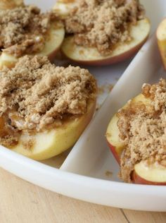 """Easy Oven Baked Apple Recipe - Clever Pink Pirate - Oven Baked Apples Recipe """"Oven Baked Apples Recipe Informations About Easy Oven Baked Apple Recip - Baked Apple Dessert, Apple Dessert Recipes, Fruit Recipes, Easy Desserts, Baking Recipes, Delicious Desserts, Yummy Food, Desserts Caramel, Healthy Apple Desserts"""
