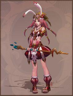 The magic girl III by Yu-Han - Yu-Han Chen - CGHUB