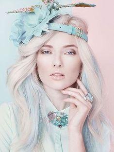 Pantone 2016, Pantone Color, Pastel Makeup, Pastel Hair, Pink Hair, Trendy Hairstyles, Braided Hairstyles, Lilac Nails Design, Mauve