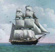 The Dove Sailing Ship 1600 | Richard Fillingham, Sr., 1638-1675, England to America