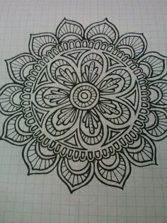 My first tangle on pinterest!