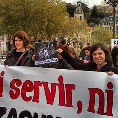 Fotos - Categoría: Main dans la main - 24 heures d'action féministe à travers du monde - Marche mondiale des femmes. Pays Basque.