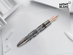 Visit http://montbl.com/Wintertale and find the perfect gift for handwriting enthusiasts. They will celebrate every card they write with the Meisterstück Skeleton Fountain Pen 90 Years anniversary edition.