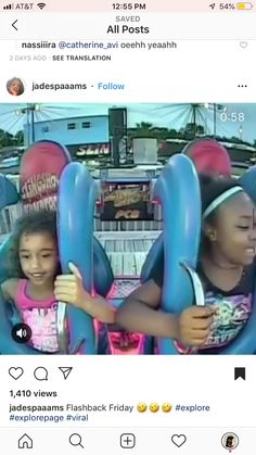 These Girls Rode The Slingshot Ride, Their Reactions Are Priceless Funny Videos Clean, Funny Videos For Kids, Funny Kids, Fun Funny, Hilarious, Really Funny Memes, Stupid Funny Memes, Funny Relatable Memes, Funny Shit