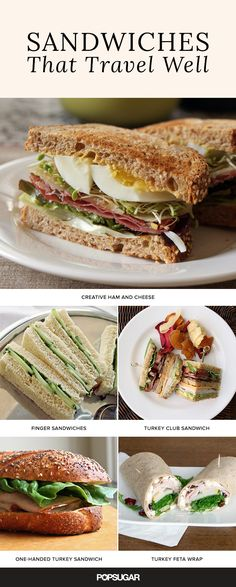 When you're on the go, there's no time for a messy meal. These not-so-average sandwiches aren't just delicious, but they also travel well. Pack your bags because this lunch inspiration is ready for wherever life takes you!