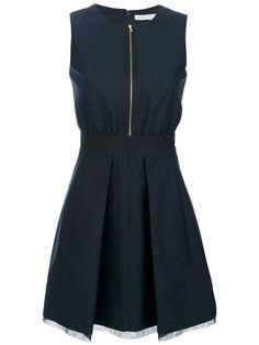 Love the Victoria Beckham sleeveless zip fastening dress on Wantering | Victoria Beckham, Style Icon | womens black dress | womenswear | womens style | womens fashion | wantering http://www.wantering.com/womens-clothing-item/sleeveless-zip-fastening-dress/8Y4kIQN/