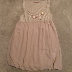 Anthropology Taupe  Top REPOSH DIDNT FIT Tunic Top with Embellishments all intact! New Size Petite but will fit Small! Very Cute. Velvet from Anthropology. Taupe Color Great with Jeans and Heels NWOTNO TRADES NO HOLDS LOWBALL OFFERS WILL BE IGNORED Anthropologie Tops Tunics
