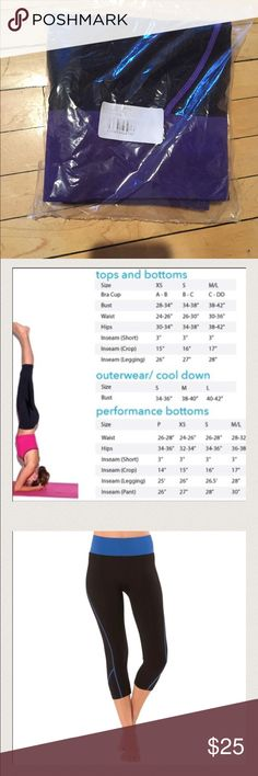 Women's Yoga Leggings 🌸NWT   🌸Active Yoga Leggings  🌸Color = Purple Size M/L 88% Polyamide, 12% Elastane.  🌸(Runs Small) M/L = S/M Pants Track Pants & Joggers