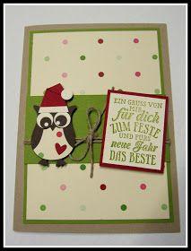 Kreative Karten mit Stampin' up! Taufe, Hochzeit, Geburtstag und vieles mehr... Stampin' up! Produkte