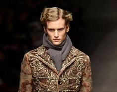 Dolce & Gabbana taps the Renaissance for Menswear FW 2012 collection