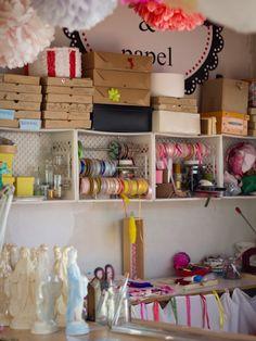 # Craft Room Ideas On A Budget, Diy On A Budget, Craft Room Storage, Craft Organization, Decor Crafts, Diy Home Decor, Furniture, Workspaces, Fire