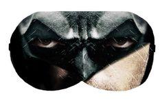 Batman Bat man Sleep Eye Mask Masks Sleeping Blindfold Night Eyes cover covers patch wear Eyewear Travel Aid Blindfolds Eyeshade Eyeshades by venderstore on Etsy