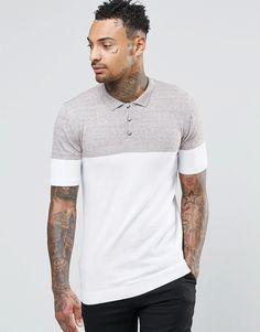 bb1dfbdaa6b Discover men's polo shirts with ASOS. Shop from a range of polo shirt  styles, from plain to striped to long sleeved shirts for men.